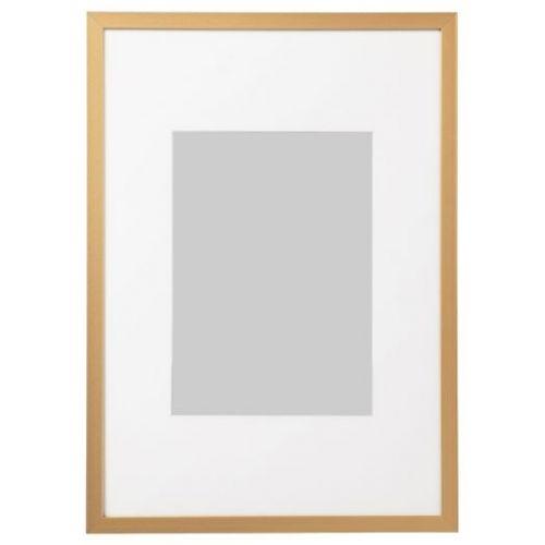 LOMVIKEN ЛОМВИКЕН, Рама, золотой, 21x30 см - 804.193.91