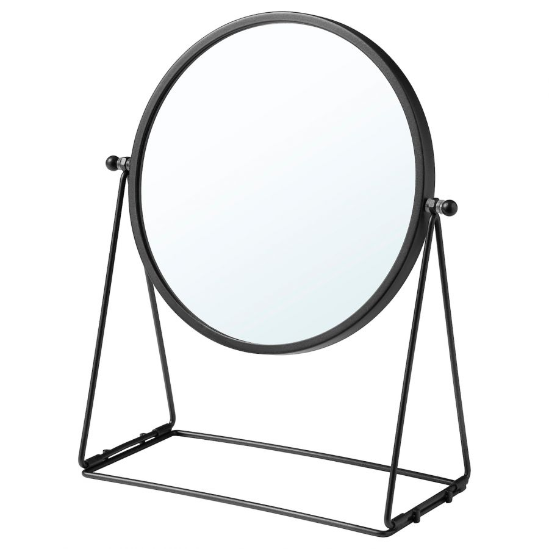 LASSBYN ЛАССБЮН, Зеркало настольное, темно-серый, 17 см - 804.590.99