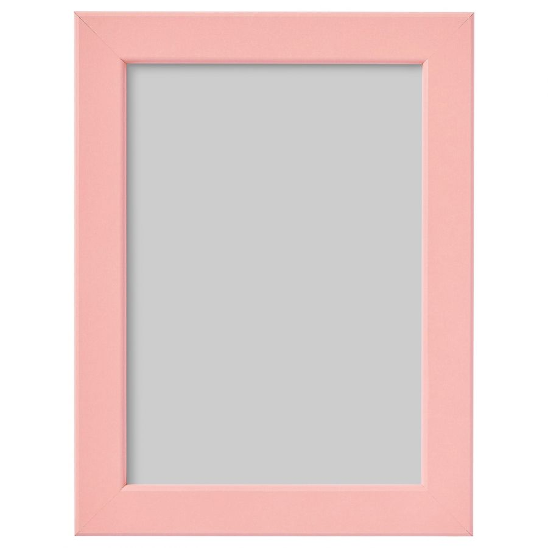 FISKBO ФИСКБУ, Рама, светло-розовый, 13x18 см - 004.647.16