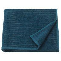 VAGSJON ВОГШЁН, Банное полотенце, темно-синий, 70x140 см - 903.536.05