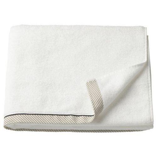 VIKFJARD ВИКФЬЕРД, Банное полотенце, белый, 70x140 см - 704.051.96