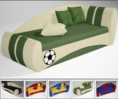 Детский диван Футбол для сна и отдыха арт. 30009