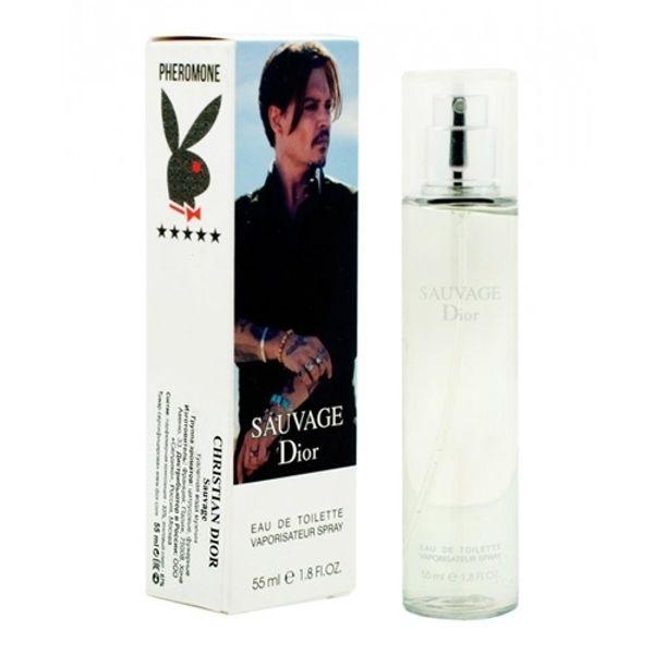 Мини-парфюм с феромонами Christian Dior Sauvage 55 мл