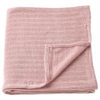 YLVALI ЮЛВАЛИ, Плед, светло-розовый, 130x170 см - 904.878.36