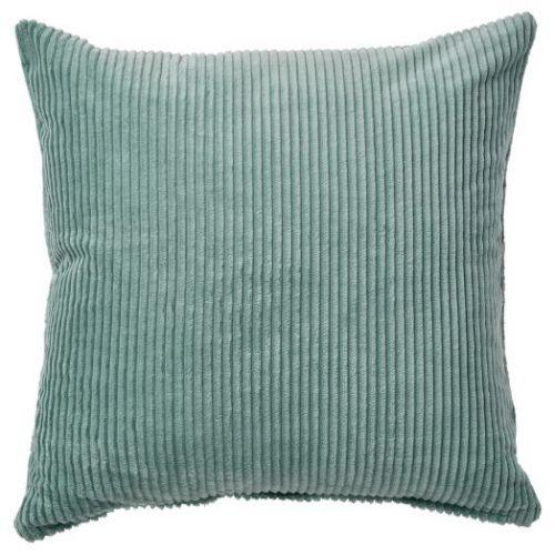ASVEIG ОСВЕЙГ, Чехол на подушку, серо-бирюзовый, 50x50 см - 504.887.86