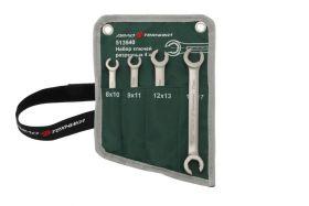 513540 Набор ключей разрезных 4 штуки, планшет тетрон. Дело Техники