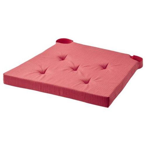 JUSTINA ЮСТИНА, Подушка на стул, красный, 42/35x40x4 см - 604.728.22