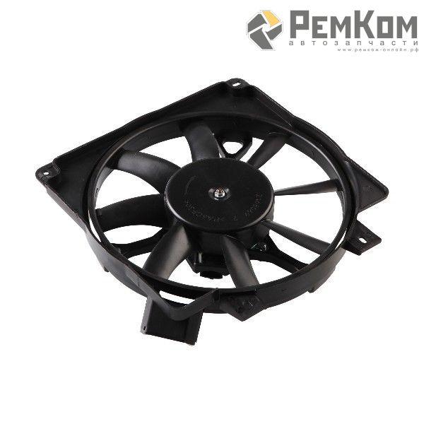RK04047 * 1118-1300025 * Мотор вентилятора радиатора охлаждения для а/м 1117 - 1119 с кожухом и крыльчаткой