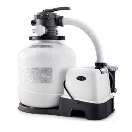 Intex 26680, песочный-насос хлоргенератор 8000 л/ч, 11 г/ч (28680)