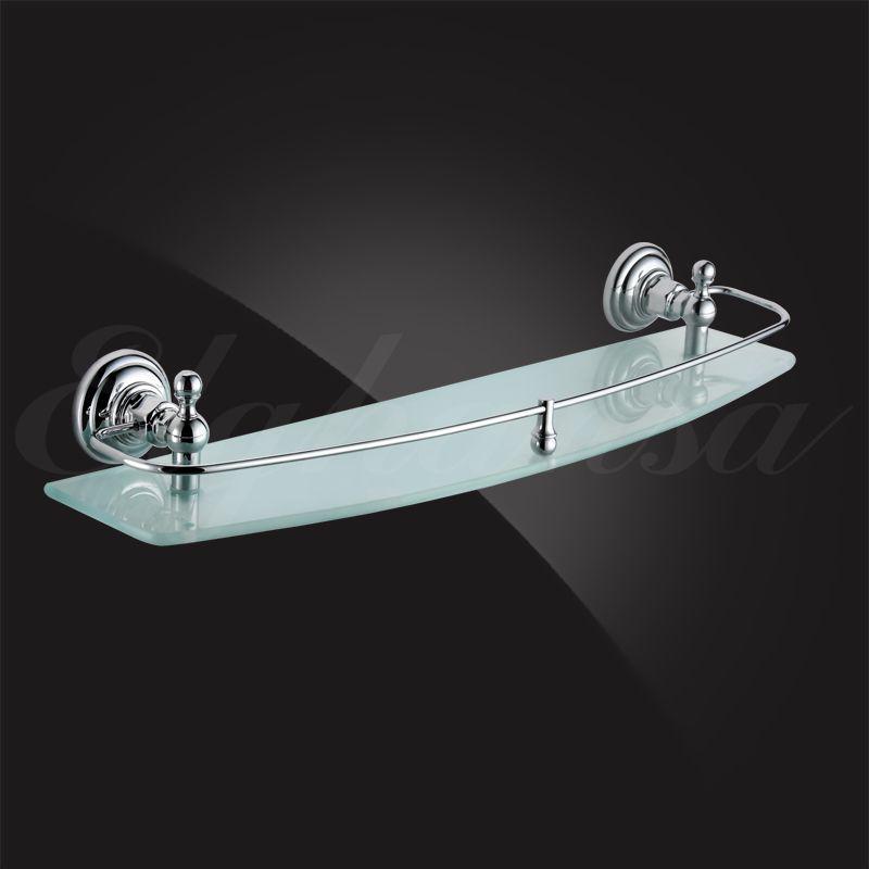 Полочка для ванной 60 см с ограничителем Elghansa Praktic PRK-560