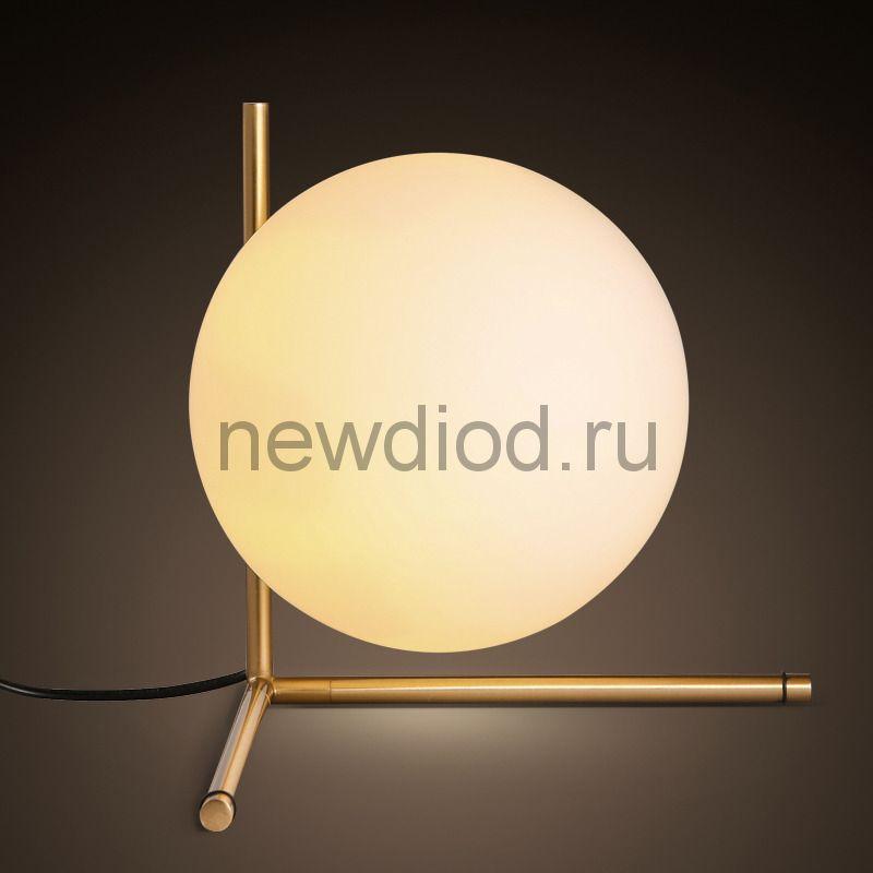 Светильник настольный GRAVITACIA 2033 под лампу E27 220*250мм на основании ЗОЛОТО OREOL