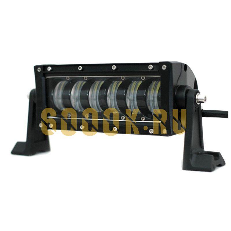 Однорядная светодиодная балка 48W CREE комбинированного света 18,5 см