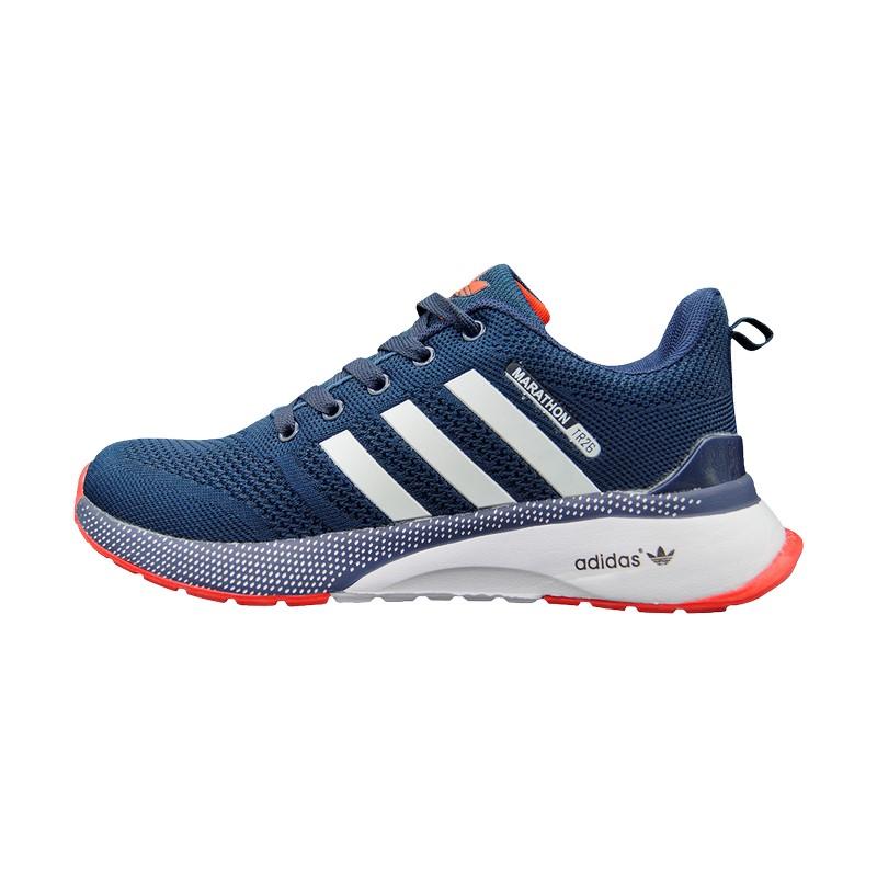 Кроссовки синие Adidas Marathon TR 26