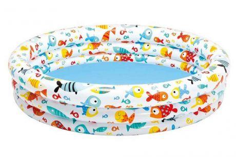 Детский надувной бассейн Intex 59431 «Аквариум», 132 х 28 см