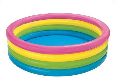 Детский надувной бассейн Intex 56441 «Радуга», 168 х 46 см