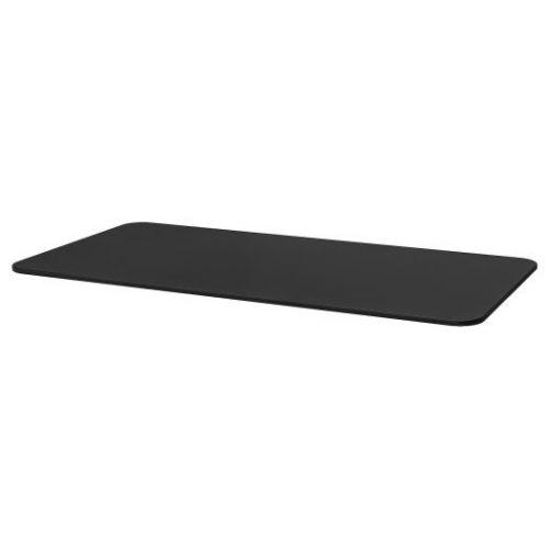 BEKANT БЕКАНТ, Столешница, ясеневый шпон/черная морилка, 160x80 см - 503.663.13