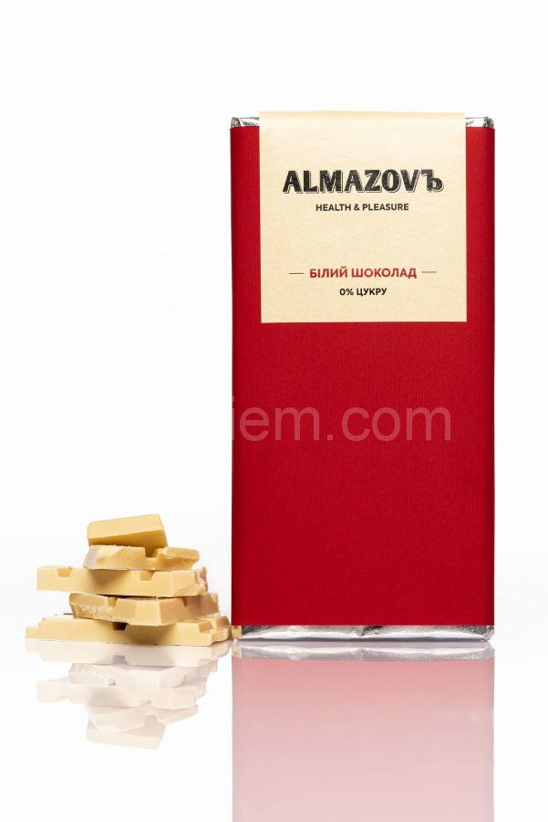 Белый шоколад Almazov, 80 грамм