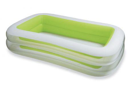 Детский надувной бассейн Intex 56483 «Морская волна», 262 х 175 х 56 см