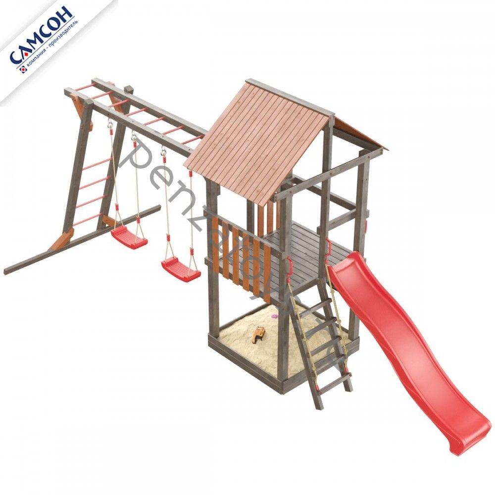 Детская игровая площадка-комплекс Сибирика с рукоходом
