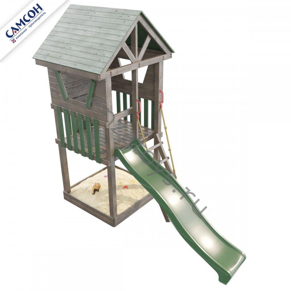 Детская игровая деревянная площадка Сибирика Башня