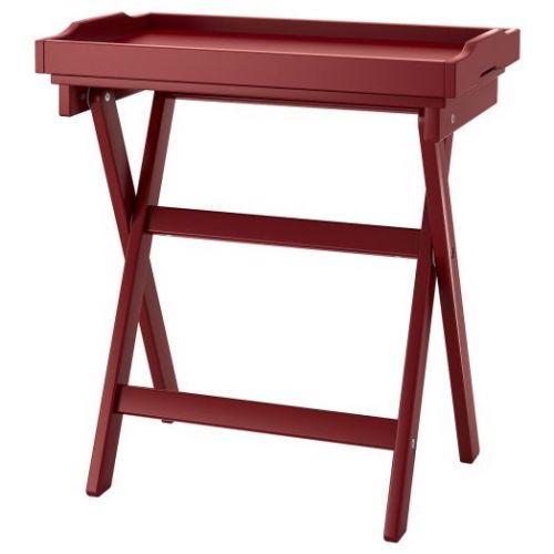 MARYD МАРЮД, Стол сервировочный, темно-красный, 58x38x58 см - 904.756.59
