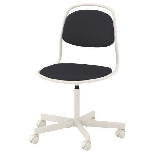 ORFJALL ОРФЬЕЛЛЬ, Рабочий стул, белый/Висле темно-серый - 093.030.45