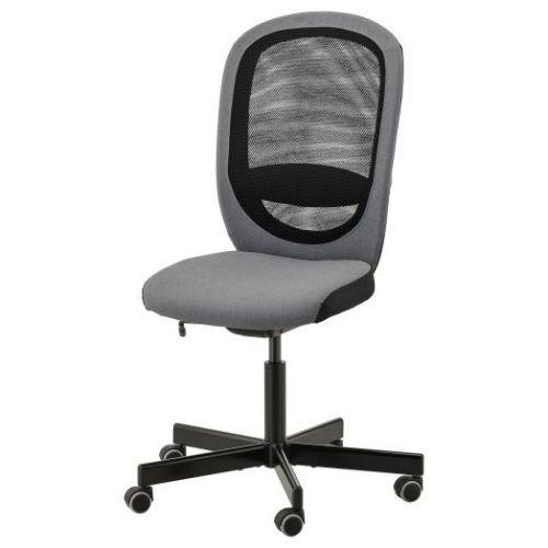 FLINTAN ФЛИНТАН, Рабочий стул, Висле серый - 503.592.37