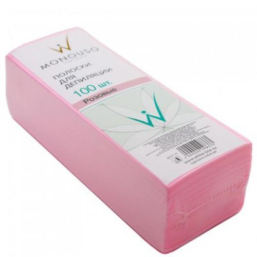 Полоска для депиляции Italwax №100  розовая