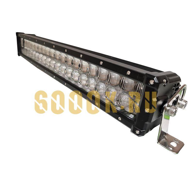 Двухрядная светодиодная балка 4D 120W OSRAM водительский свет