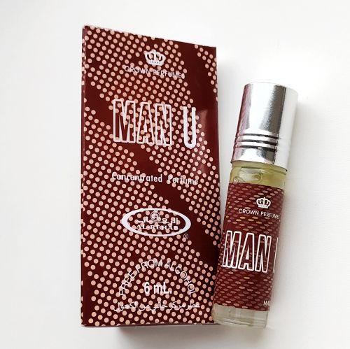 Арабские масляные духи Man U | Мужчина | 6 мл | Al-Rehab | Мужской