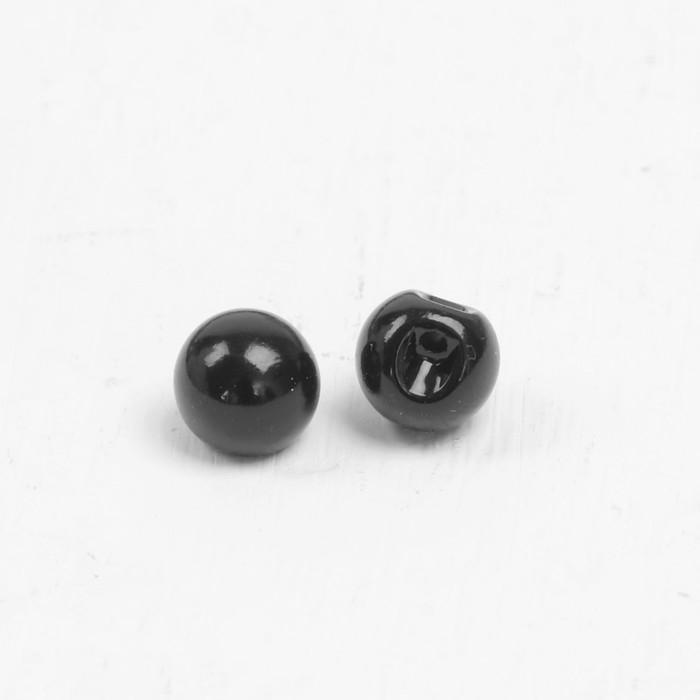 Глазки пришивные 1,4 см черный