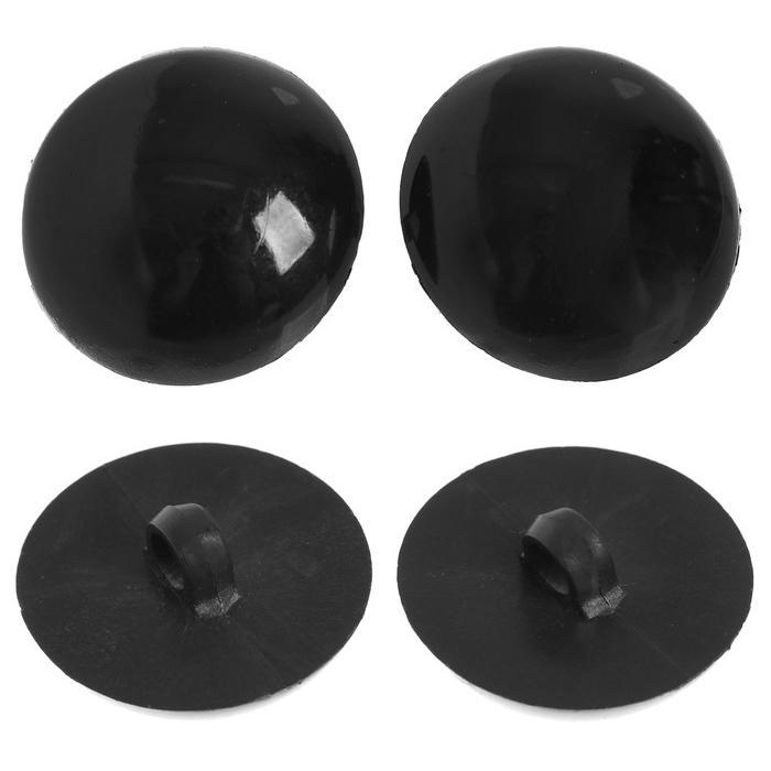 Глазки пришивные 25мм черный