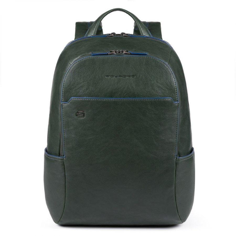 Рюкзак Piquadro CA3214B2S/VE мужской кожаный зелёный