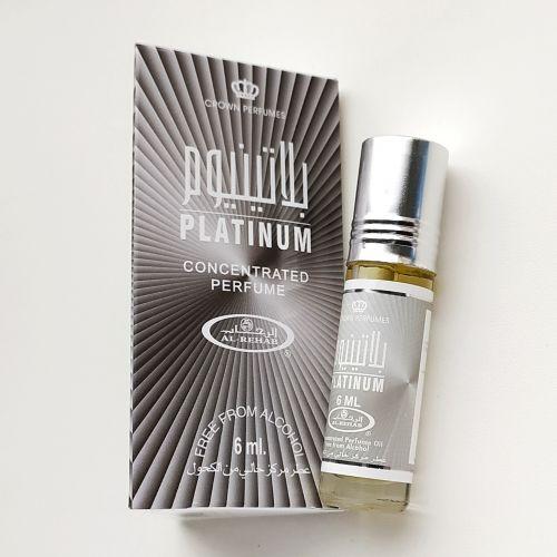 Арабские масляные духи Platinum | Платина | 6 мл | Al-Rehab | Мужской
