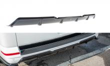 Декоративная накладка на задний бампер VW T6 в виде диффузора