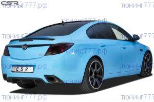 Диффузор накладка бампера Opel Insignia 1 OPC