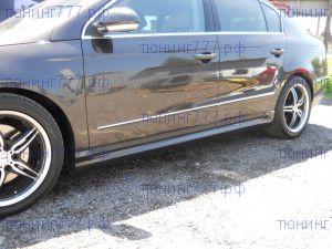 Пороги накладки VW Passat B6 B7 3C в стиле R-Line