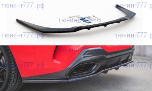 Сплиттер заднего бампера, Maxton Design, для G15