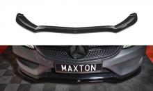 Сплиттер передний, Maxton, для W205 AMG-Line купе