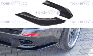 Сплиттеры заднего бампера BMW X5 E70 M-Pack рестайлинг