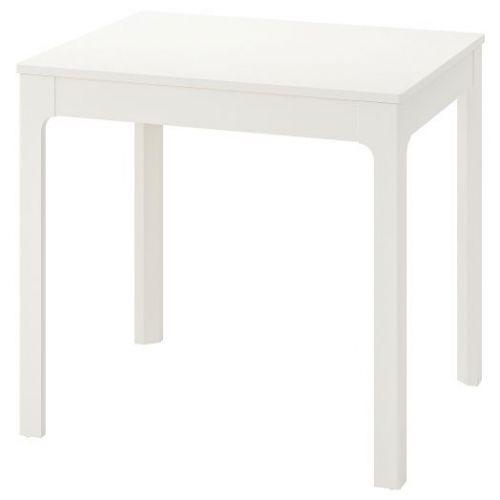 EKEDALEN ЭКЕДАЛЕН, Раздвижной стол, белый, 80/120x70 см - 803.578.35