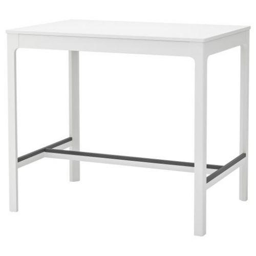 EKEDALEN ЭКЕДАЛЕН, Барный стол, белый, 120x80x105 см - 104.005.16