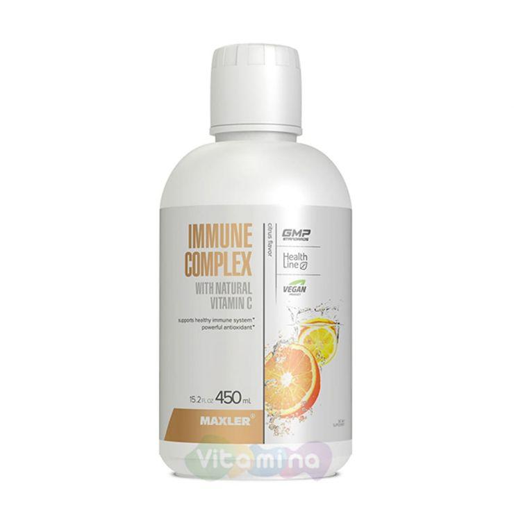 Maxler  Immune Complex + Vitamin C, 450 мл.