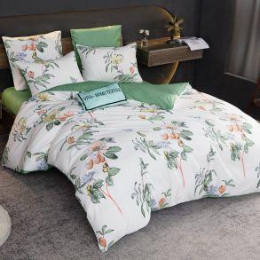 Комплект постельного белья Делюкс Сатин L356