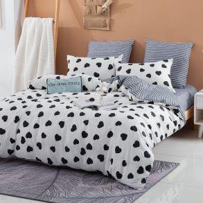 Комплект постельного белья Делюкс Сатин L362