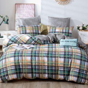 Комплект постельного белья Делюкс Сатин L364