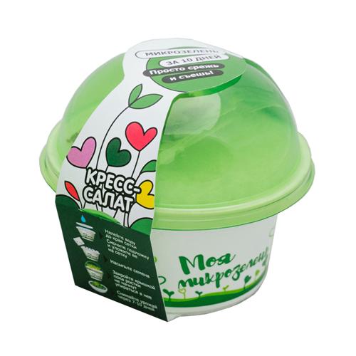 Набор для выращивания «Моя микрозелень» Кресс-салат