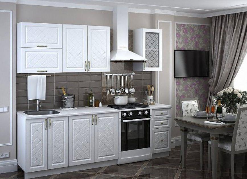 Модульная кухня Айвори (Модена)