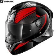 Шлем Shark Skwal 2 Hallder, Черно-красный