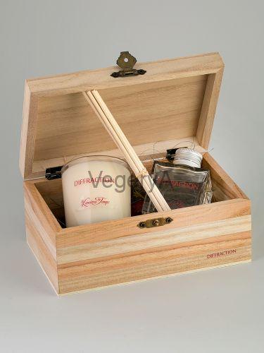 Подарочный набор деревянный сундучок (Взрыв свежести) LUMIERES